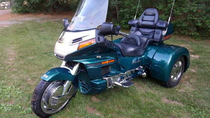 1995 honda goldwing gl1500 trike for sale in lowell. Black Bedroom Furniture Sets. Home Design Ideas