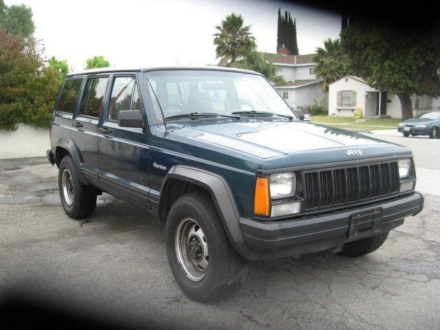 1995 jeep cherokee se for sale in downey california classified. Black Bedroom Furniture Sets. Home Design Ideas