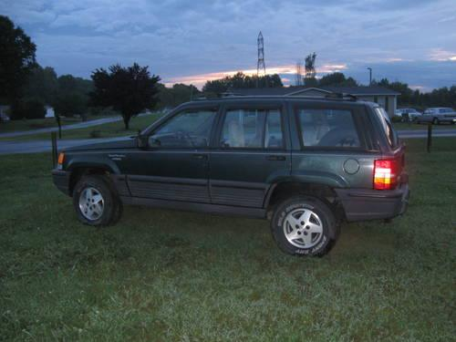 1995 jeep grand cherokee for sale in camp springs north carolina classified. Black Bedroom Furniture Sets. Home Design Ideas