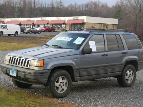 1995 jeep grand cherokee laredo 4x4 for sale in marion connecticut classified. Black Bedroom Furniture Sets. Home Design Ideas