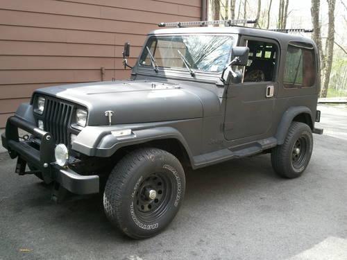 1995 Jeep Wrangler 4 0 5 Speed For Sale In Pulaski