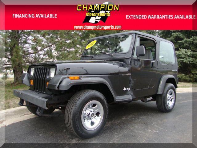 1995 jeep wrangler rio grande for sale in crestwood. Black Bedroom Furniture Sets. Home Design Ideas