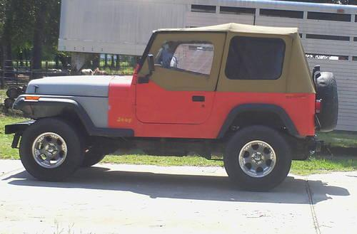 1995 jeep wrangler rio grande edition for sale in shepherd texas classified. Black Bedroom Furniture Sets. Home Design Ideas