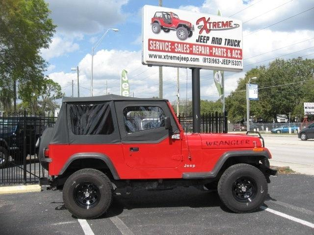 1995 jeep wrangler s for sale in tampa florida classified. Black Bedroom Furniture Sets. Home Design Ideas