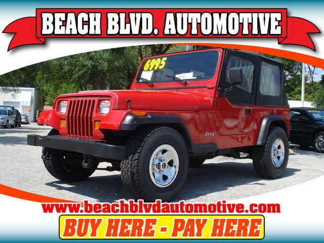 1995 jeep wrangler s for sale in jacksonville florida classified. Black Bedroom Furniture Sets. Home Design Ideas