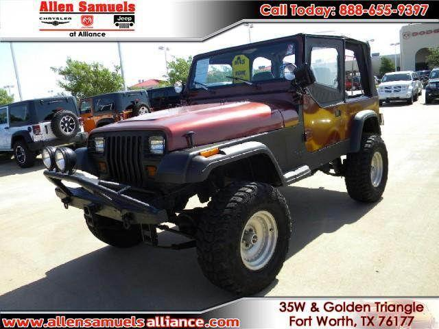 1995 jeep wrangler s for sale in fort worth texas classified. Black Bedroom Furniture Sets. Home Design Ideas