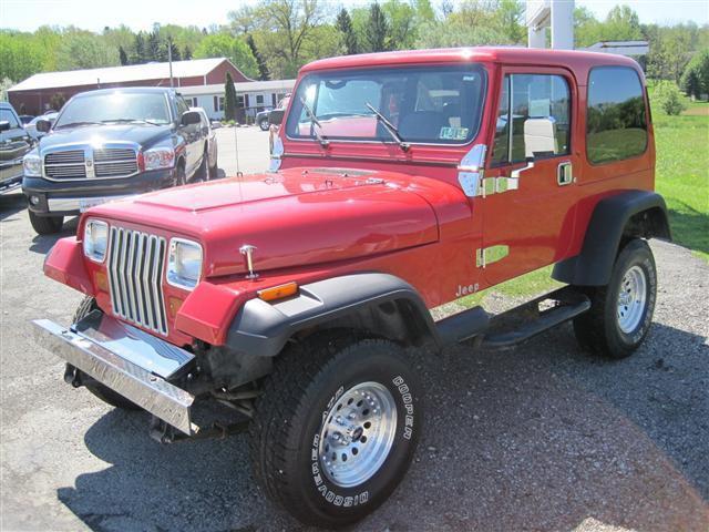 1995 Jeep Wrangler S For Sale In Latrobe Pennsylvania