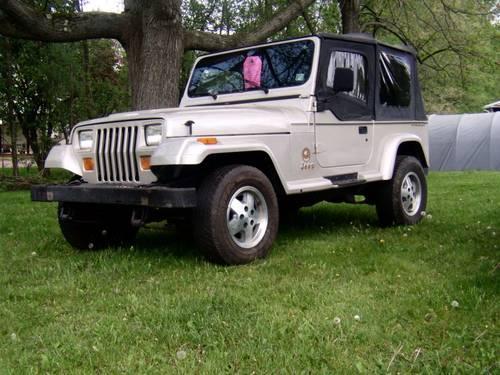 1995 Jeep Wrangler Sahara Conv. Sport Utility 84 K. Mi For Sale In  Brookfield, Ohio