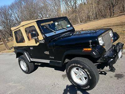 1995 jeep wrangler se sport utility 2 door 4 0l for sale in staten island new york classified. Black Bedroom Furniture Sets. Home Design Ideas
