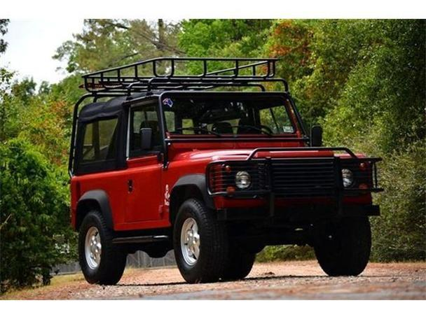 1995 land rover defender for sale in houston texas classified. Black Bedroom Furniture Sets. Home Design Ideas