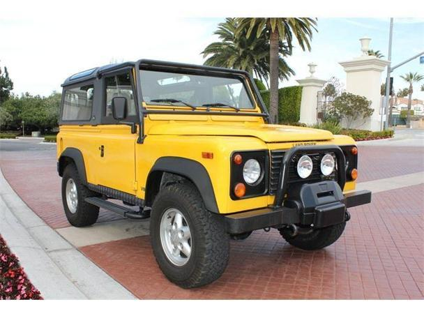 1995 land rover defender for sale in irvine california classified. Black Bedroom Furniture Sets. Home Design Ideas