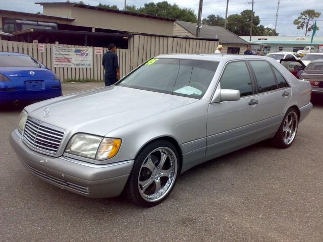 1995 mercedes benz s class s320 for sale in tampa florida for Mercedes benz 1995 s320