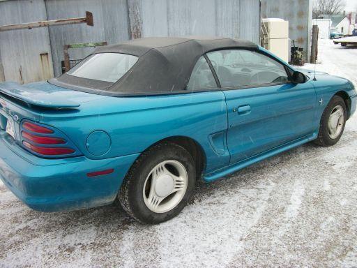 1995 Mustang 2 Door Convertible.
