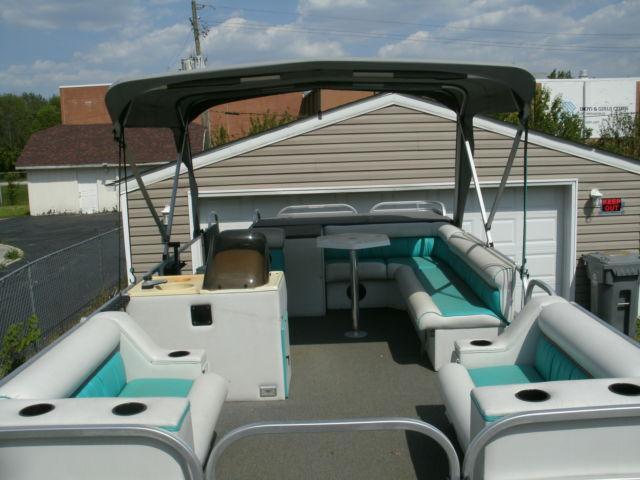 1995 playcraft pontoon 20 ft mercury force 70 hp motor