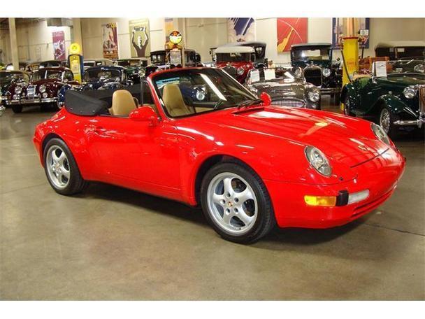 1995 porsche 911 carrera for sale in costa mesa for Stead motors walnut creek