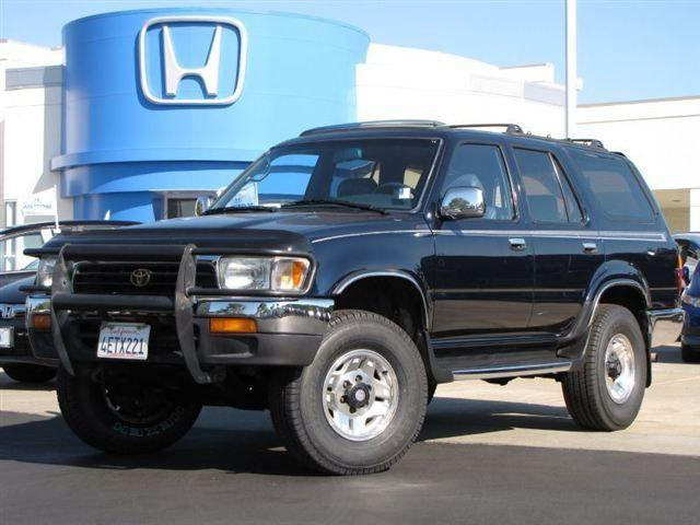 1995 toyota 4runner sr5 for sale in san rafael california classified. Black Bedroom Furniture Sets. Home Design Ideas
