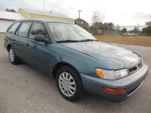 1995 toyota corolla 4d station wagon dx for sale in lake city florida classified. Black Bedroom Furniture Sets. Home Design Ideas