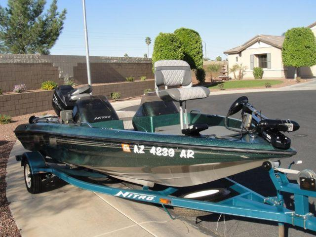 1995 tracker nitro runabout bass boat and trailer for sale ... nitro bass boat wiring diagram for 1995 #8