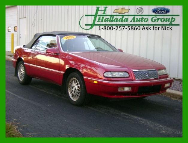 1995 Chrysler Lebaron Gtc For Sale In Dodgeville