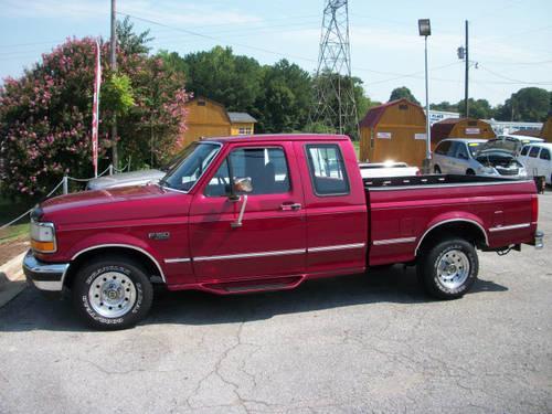 1995 ford f 150 super cab pickup xlt for sale in decatur. Black Bedroom Furniture Sets. Home Design Ideas