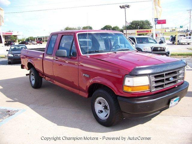 1995 ford f150 xl for sale in arlington texas classified. Black Bedroom Furniture Sets. Home Design Ideas