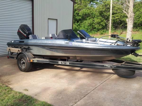 1996 17ft fish ski procraft boat for sale in choctaw for Procraft fish and ski