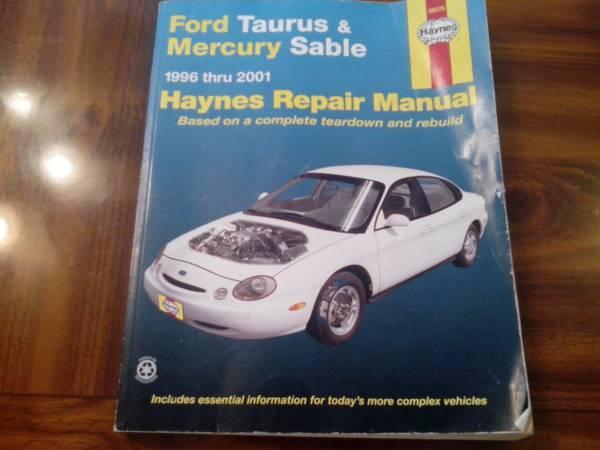 1996 2001 ford taurus and mercury sable haynes repair manual for rh springdale ar americanlisted com 2002 Ford Taurus Repair Manual 05 Ford Taurus Repair Manual