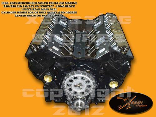 1996 2012 marine 350 cid 5 7l v8 vortec reman engine long block for sale in hialeah florida. Black Bedroom Furniture Sets. Home Design Ideas