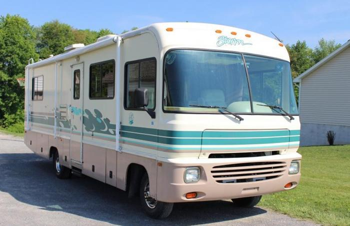 1996 30 ft fleetwood rv for sale in anthony pennsylvania. Black Bedroom Furniture Sets. Home Design Ideas