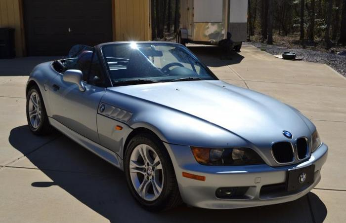 1996 Bmw Z3 Convertible Sports Car For Sale In Zebulon North Carolina Classified