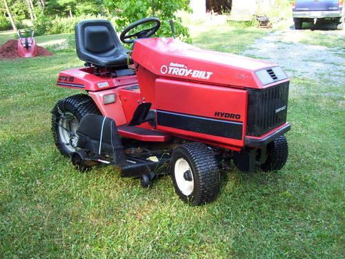 1996 Bolens Troy bilt GTX18 Heavy Duty Garden Tractor
