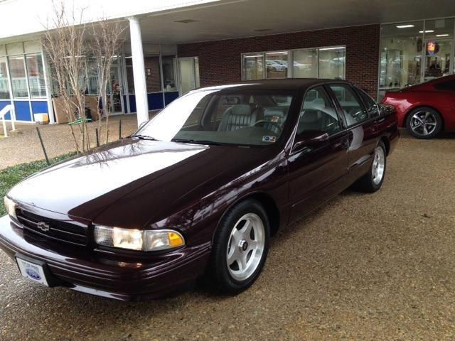 1996 Chevrolet Caprice Classic Impala Ss Caprice Police