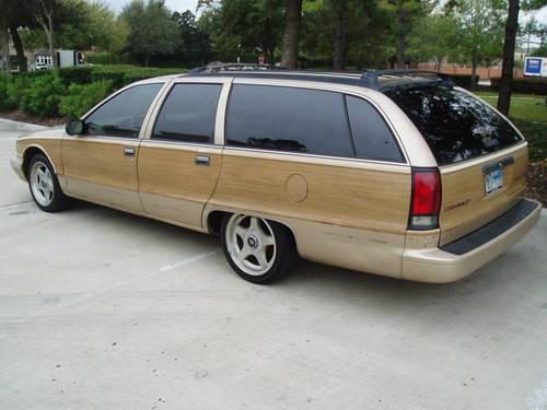 1996 chevrolet caprice wagon extremely low miles 86k mls. Black Bedroom Furniture Sets. Home Design Ideas