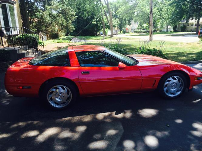 1996 chevrolet corvette grand sport lt4 for sale in downers grove illinois classified. Black Bedroom Furniture Sets. Home Design Ideas