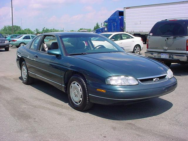 1996 chevrolet monte carlo ls for sale in pontiac. Black Bedroom Furniture Sets. Home Design Ideas
