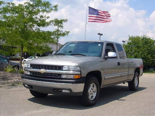 1996 chevrolet silverado 1500 extended cab pickup truck for sale for sale in sandusky michigan. Black Bedroom Furniture Sets. Home Design Ideas