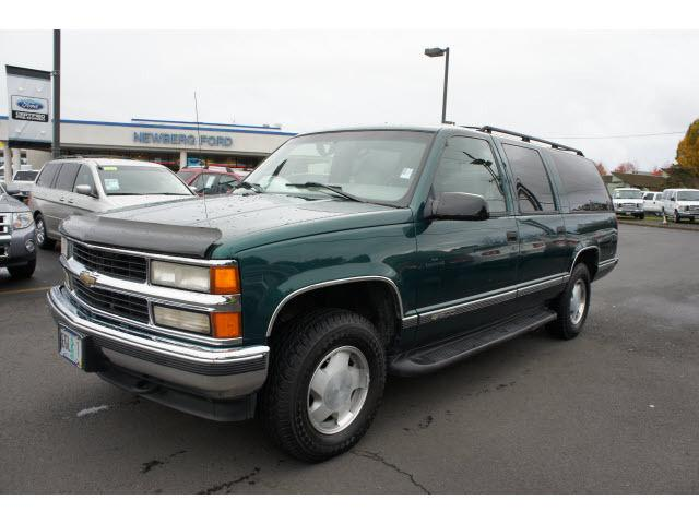 1996 chevrolet suburban 1500 for sale in newberg oregon. Black Bedroom Furniture Sets. Home Design Ideas