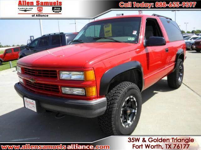 1996 chevrolet tahoe for sale in fort worth texas classified. Black Bedroom Furniture Sets. Home Design Ideas