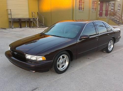 1996 CHEVY IMPALA SS - LOW MILES ONE OWNER IMMACULATE