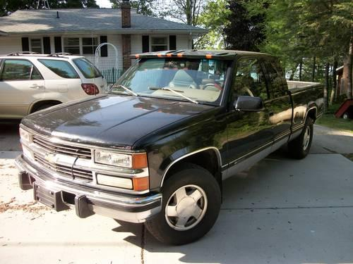 1996 chevy silverado z71 1500 ext cab 6 5 diesel 226 000 miles for sale in coldwater. Black Bedroom Furniture Sets. Home Design Ideas