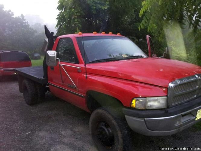 1996 Dodge Cummins 3500 Straight Drive Fwd For Sale In