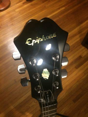 1996 Epiphone Dot Electric Guitar, Crate Amp, Grunge