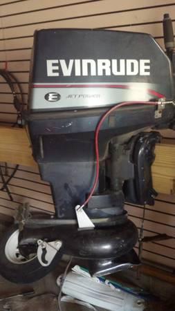 1996 evinrude jet motor 40 28 hp for sale in for Evinrude outboard jet motors for sale