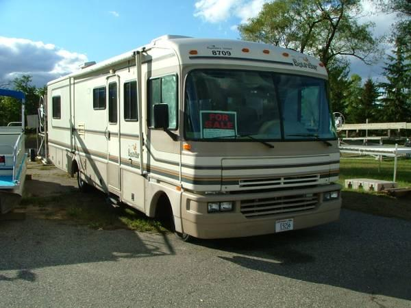 1996 Fleetwood Bounder Motor Home For Sale In Montello Wisconsin Classified