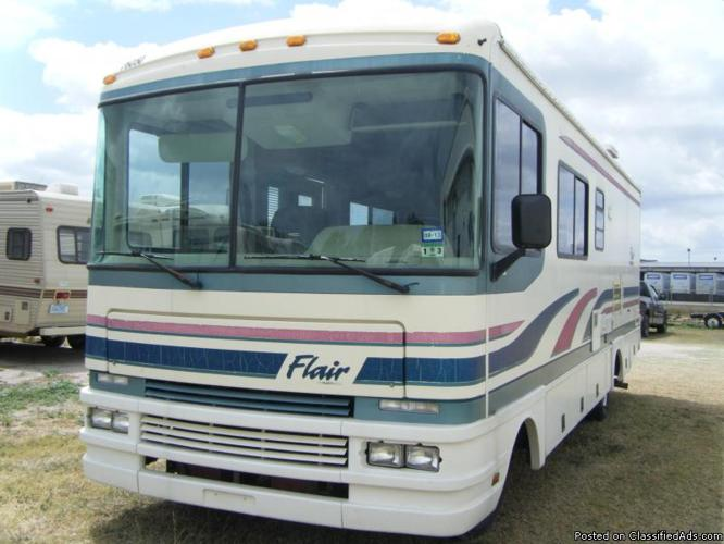 1996 Fleetwood Flair Motor Home For Sale In La Feria