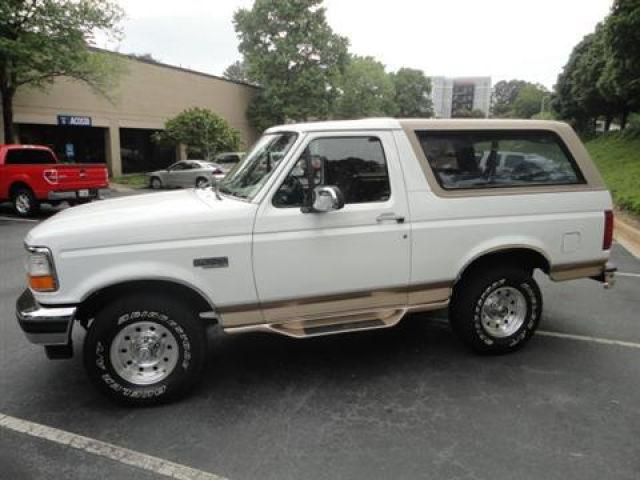 1996 ford bronco for sale in marietta georgia classified. Cars Review. Best American Auto & Cars Review