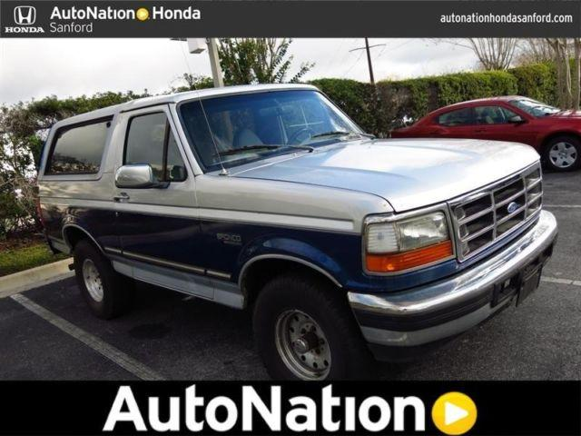 1996 ford bronco for sale in lake forest florida classified. Cars Review. Best American Auto & Cars Review