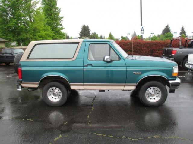 1996 ford bronco for sale in hillsboro oregon classified. Cars Review. Best American Auto & Cars Review