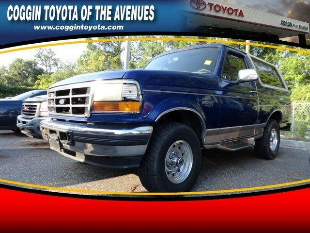 1996 ford bronco eddie bauer for sale in jacksonville florida. Cars Review. Best American Auto & Cars Review