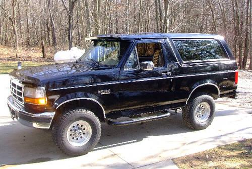 1996 ford bronco eddie bauer for sale in augusta michigan classified. Cars Review. Best American Auto & Cars Review